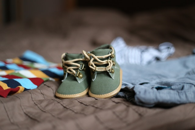 cute little baby boots for newborn child