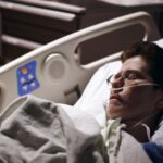 cancer patients have a lot of pain during chemotherapy which can disturb their hospital sleep leading to insomnia