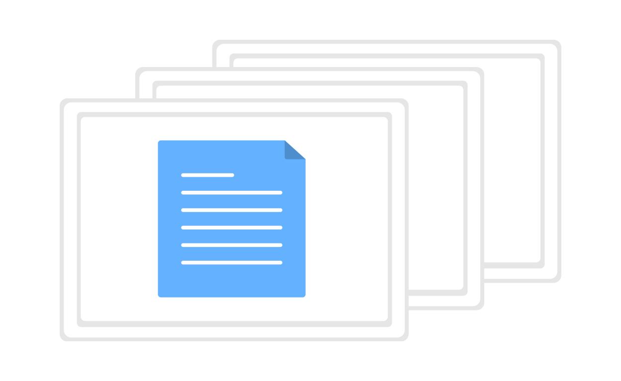 files uploaded into central data server